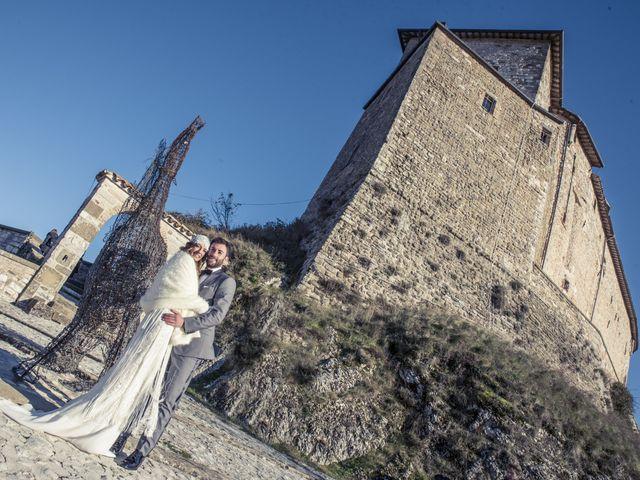 Il matrimonio di Daniele e Valeria a Serra Sant'Abbondio, Pesaro - Urbino 24