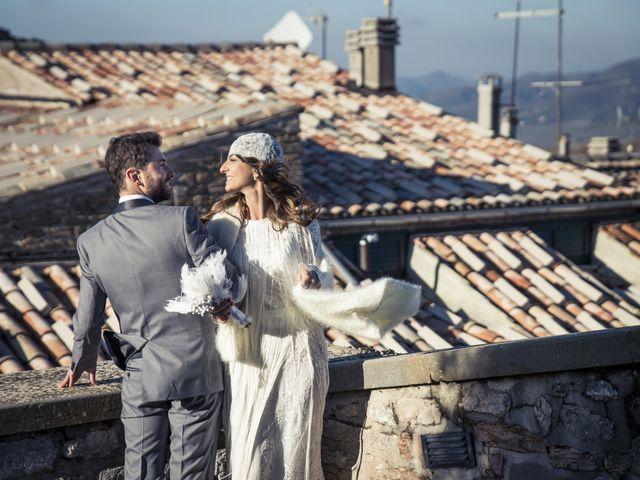 Il matrimonio di Daniele e Valeria a Serra Sant'Abbondio, Pesaro - Urbino 26