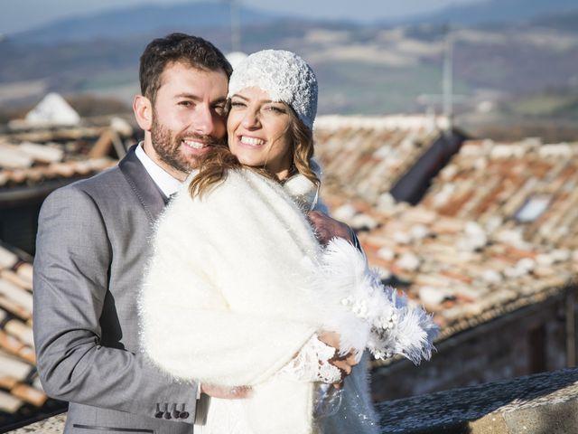 Il matrimonio di Daniele e Valeria a Serra Sant'Abbondio, Pesaro - Urbino 27