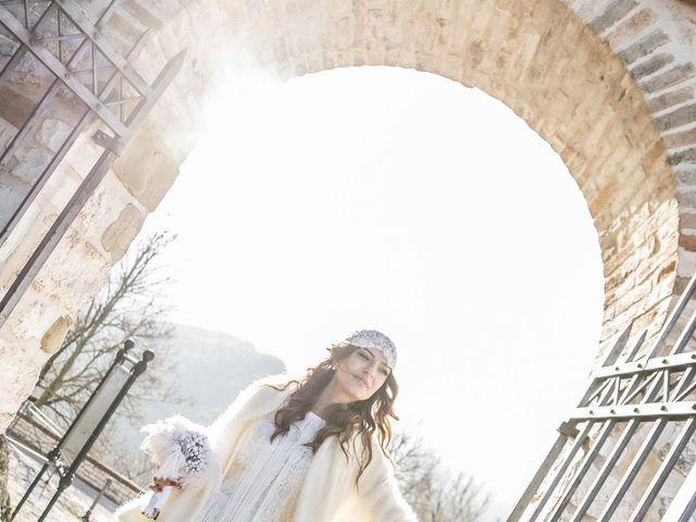 Il matrimonio di Daniele e Valeria a Serra Sant'Abbondio, Pesaro - Urbino 33