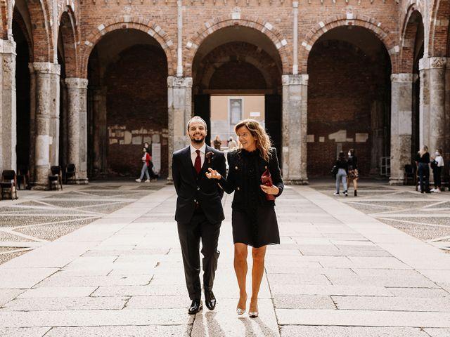 Il matrimonio di Carlo e Laura a Milano, Milano 40