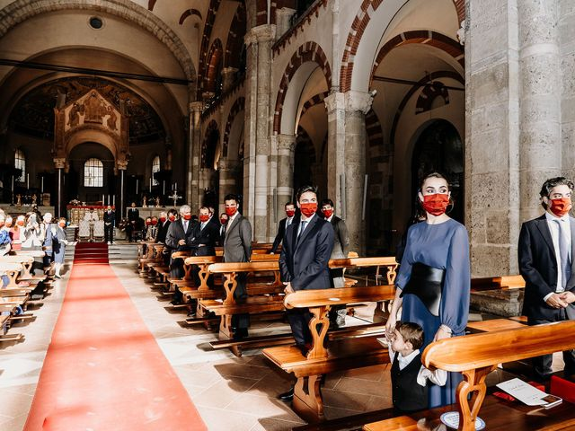 Il matrimonio di Carlo e Laura a Milano, Milano 48