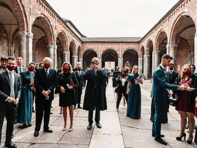 Il matrimonio di Carlo e Laura a Milano, Milano 78