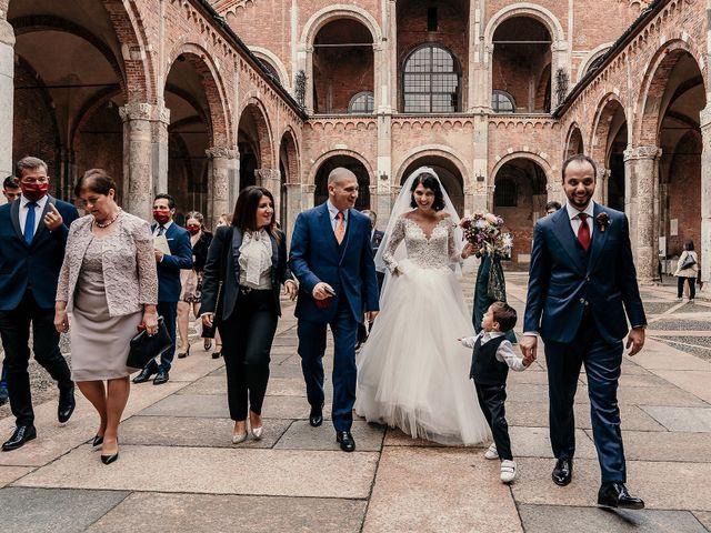 Il matrimonio di Carlo e Laura a Milano, Milano 82