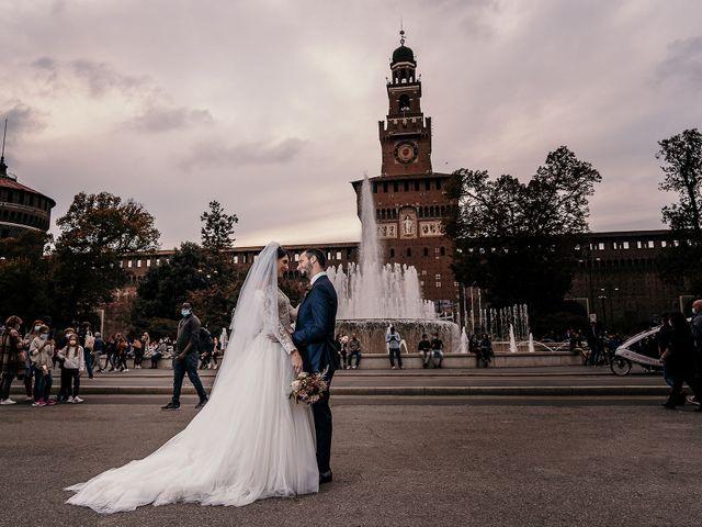 Il matrimonio di Carlo e Laura a Milano, Milano 83