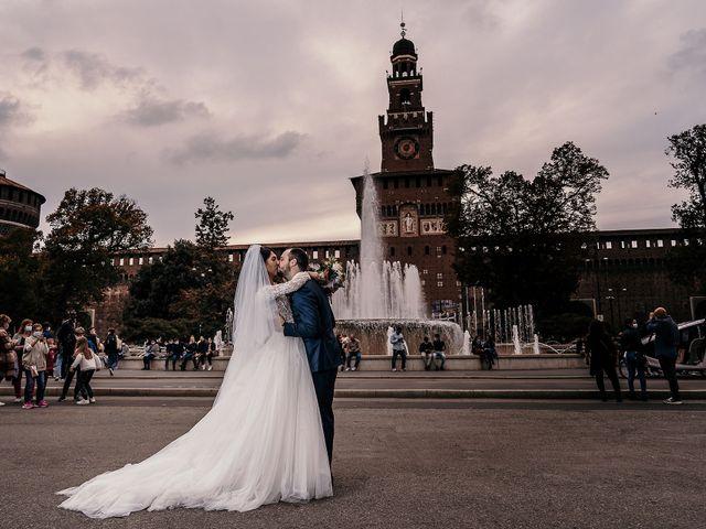 Il matrimonio di Carlo e Laura a Milano, Milano 85