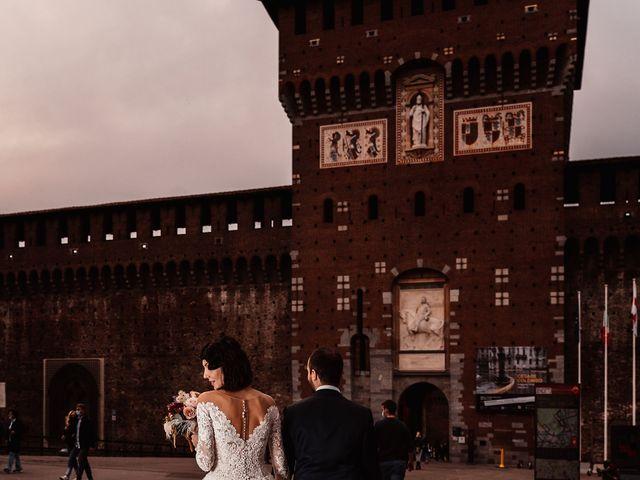 Il matrimonio di Carlo e Laura a Milano, Milano 90