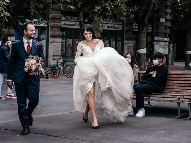 Il matrimonio di Carlo e Laura a Milano, Milano 93