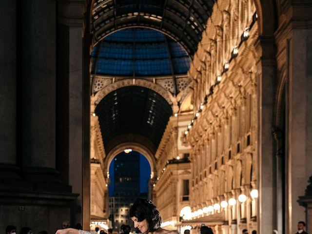 Il matrimonio di Carlo e Laura a Milano, Milano 100