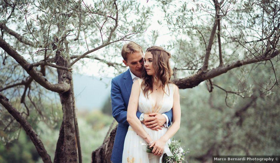 Il matrimonio di Patrick e Sophie a Greve in Chianti, Firenze