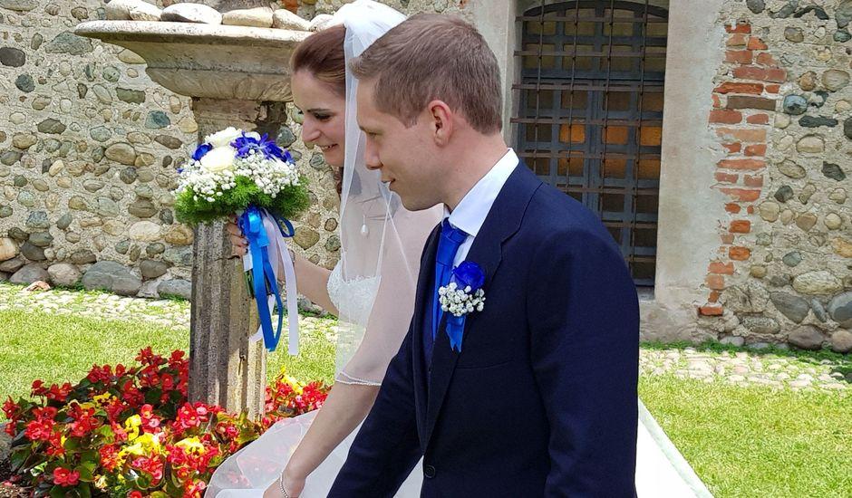 Il matrimonio di Gabriele e Eliana a Moncrivello, Vercelli