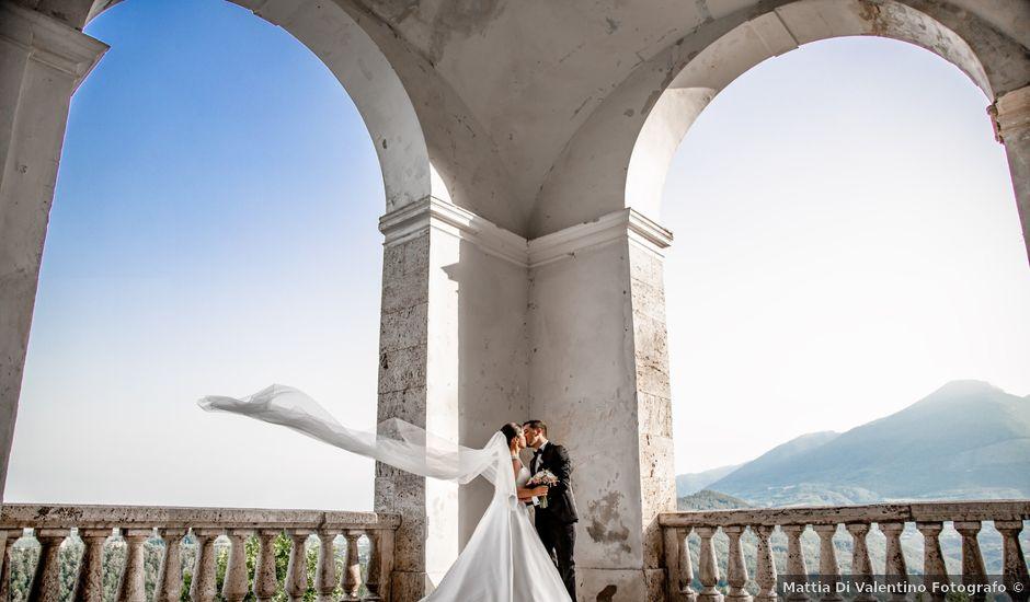 Il matrimonio di Domenico e Giulia a CivitelladelTronto, Teramo
