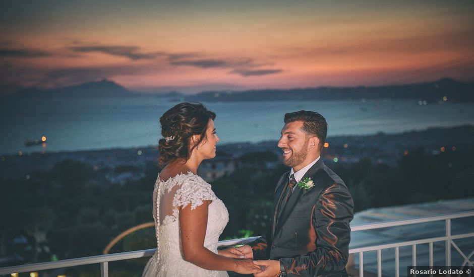 Il matrimonio di Ester e Leandro a Vietri sul Mare, Salerno