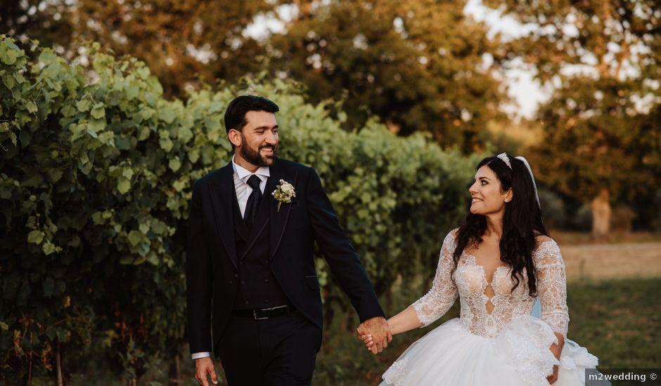 Il matrimonio di Emanuela e Alberto a Castignano, Ascoli Piceno