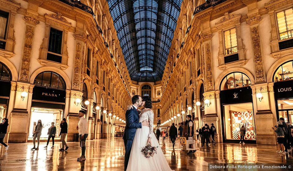 Il matrimonio di Carlo e Laura a Milano, Milano