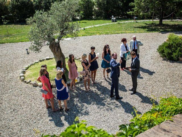 Il matrimonio di Ivan e Jasmin a Castiglione d'Orcia, Siena 28