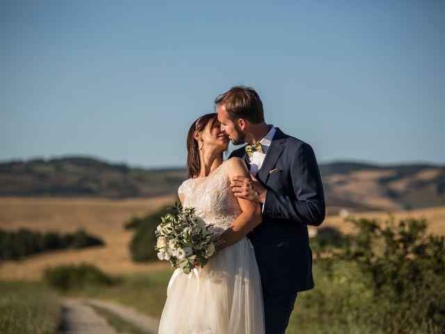Il matrimonio di Ivan e Jasmin a Castiglione d'Orcia, Siena 32