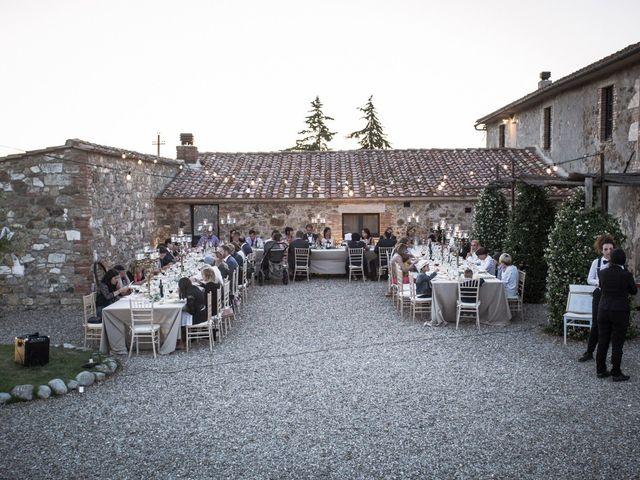 Il matrimonio di Ivan e Jasmin a Castiglione d'Orcia, Siena 34