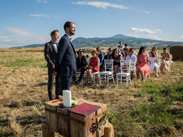 Il matrimonio di Ivan e Jasmin a Castiglione d'Orcia, Siena 47