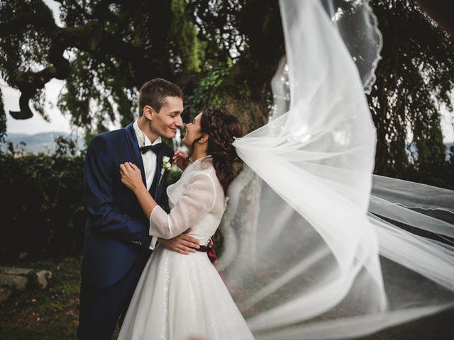 Le nozze di Tamara e Stefano