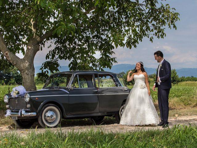 Le nozze di Cinzia e Alessandro