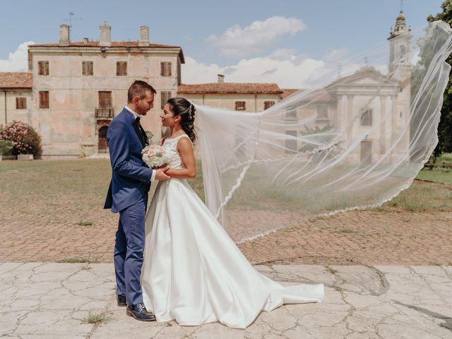 Il matrimonio di Stefano e Federica a Ronco all'Adige, Verona 16