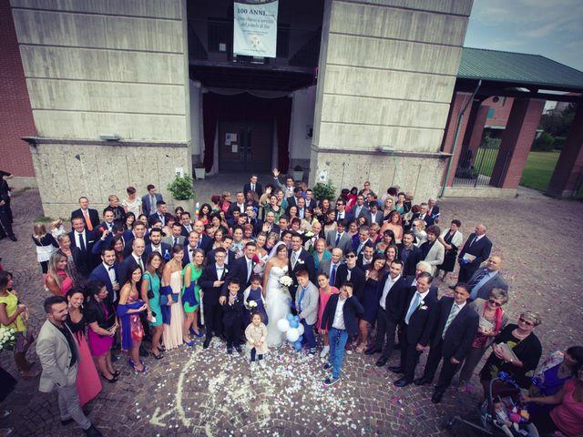 Il matrimonio di Fabio e Manuela a Garbagnate Milanese, Milano 95