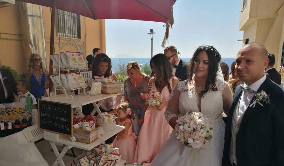 Il matrimonio di Davide Schirato e Arianna Goliuso a Pozzuoli, Napoli