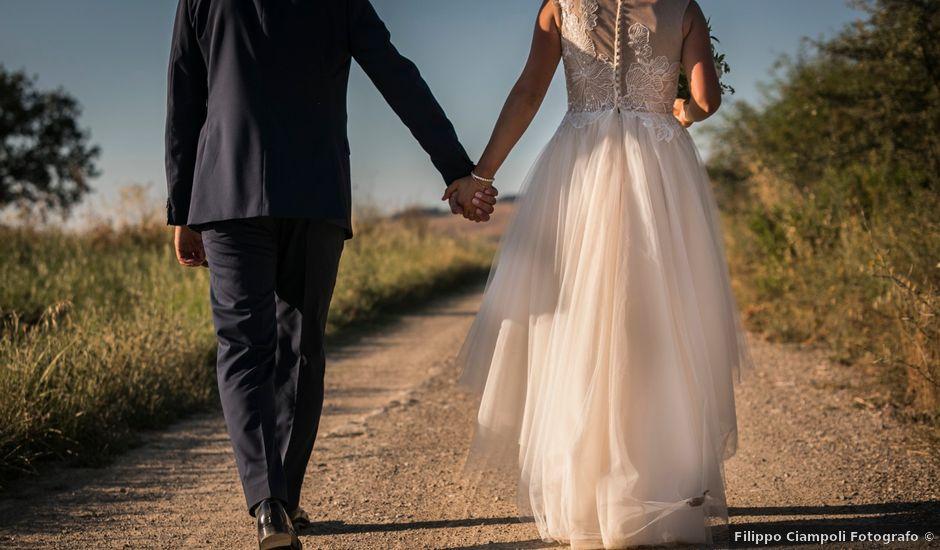 Il matrimonio di Ivan e Jasmin a Castiglione d'Orcia, Siena