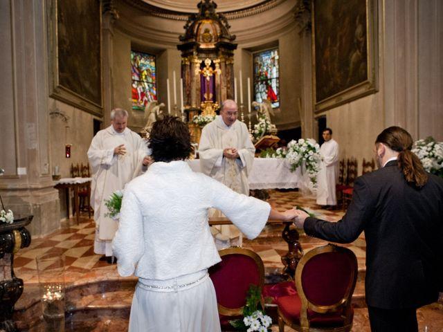 Il matrimonio di Pietro e Claudia a Figino Serenza, Como 9