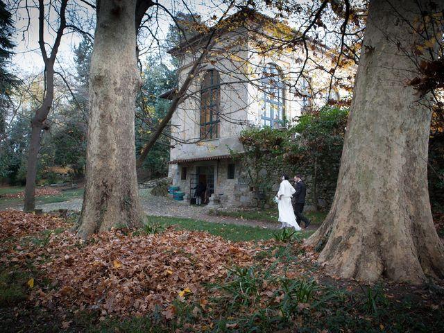 Il matrimonio di Pietro e Claudia a Figino Serenza, Como 17