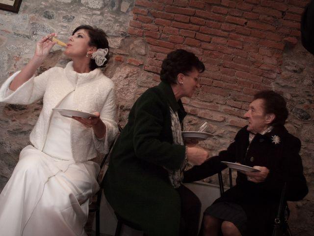Il matrimonio di Pietro e Claudia a Figino Serenza, Como 18