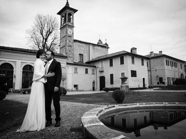 Il matrimonio di Pietro e Claudia a Figino Serenza, Como 28