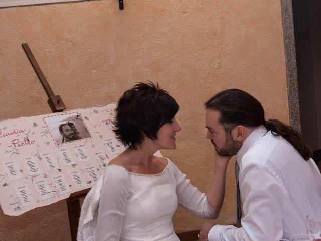 Il matrimonio di Pietro e Claudia a Figino Serenza, Como 34