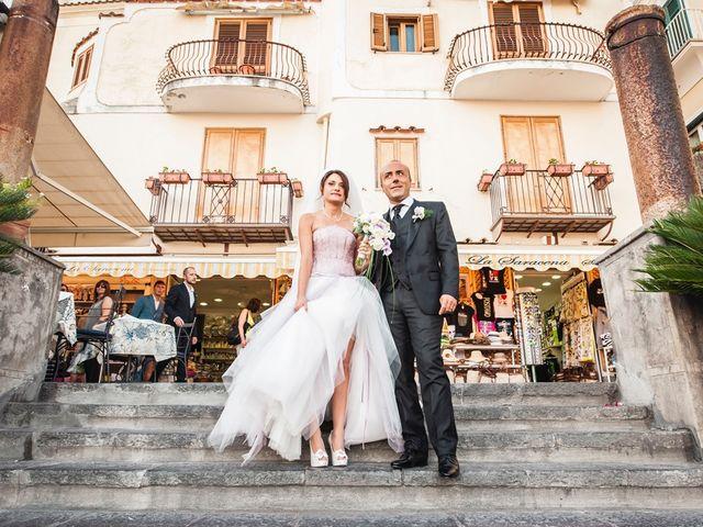 Il matrimonio di Fiorenzo e Emanuela a Positano, Salerno 26