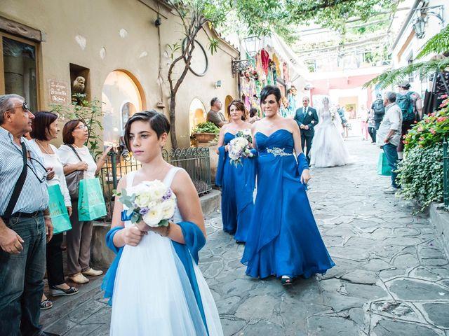 Il matrimonio di Fiorenzo e Emanuela a Positano, Salerno 32