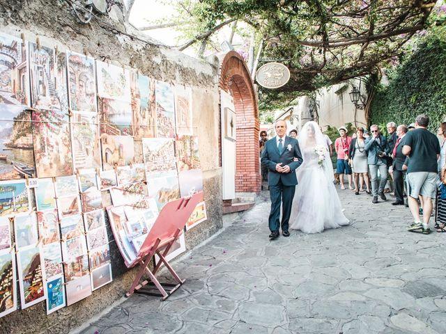 Il matrimonio di Fiorenzo e Emanuela a Positano, Salerno 33