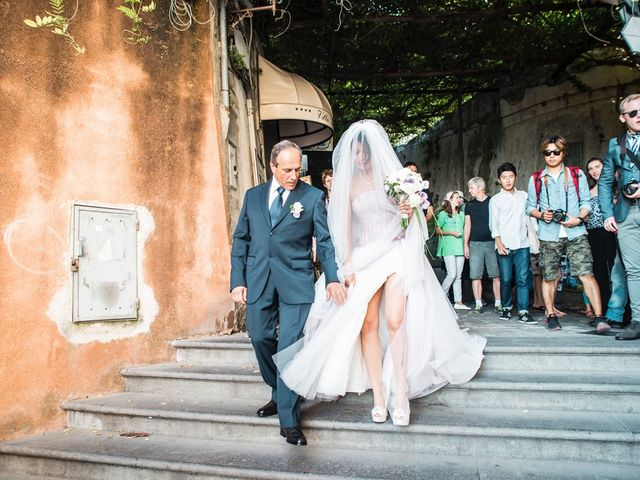 Il matrimonio di Fiorenzo e Emanuela a Positano, Salerno 34