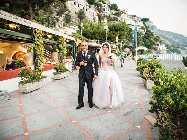 Il matrimonio di Fiorenzo e Emanuela a Positano, Salerno 40