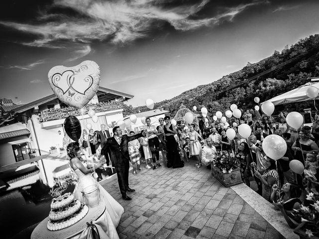 Il matrimonio di Alessandro e Ilaria a Gandosso, Bergamo 112