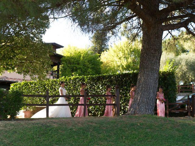 Il matrimonio di Manuel e Sara a Trevignano Romano, Roma 22