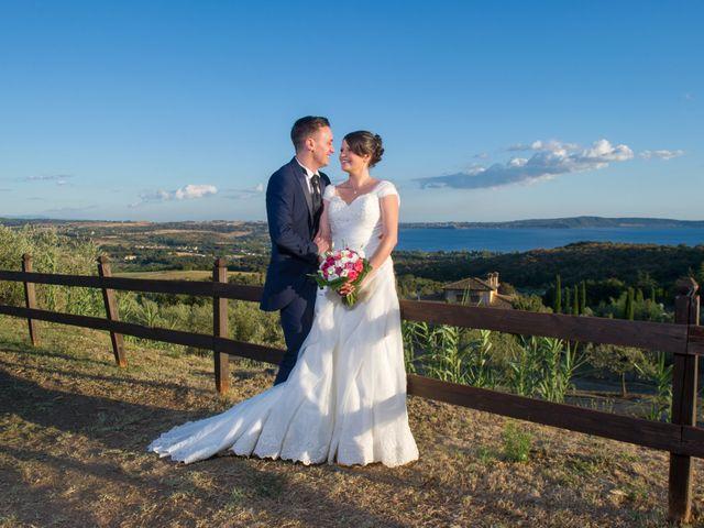 Il matrimonio di Manuel e Sara a Trevignano Romano, Roma 31