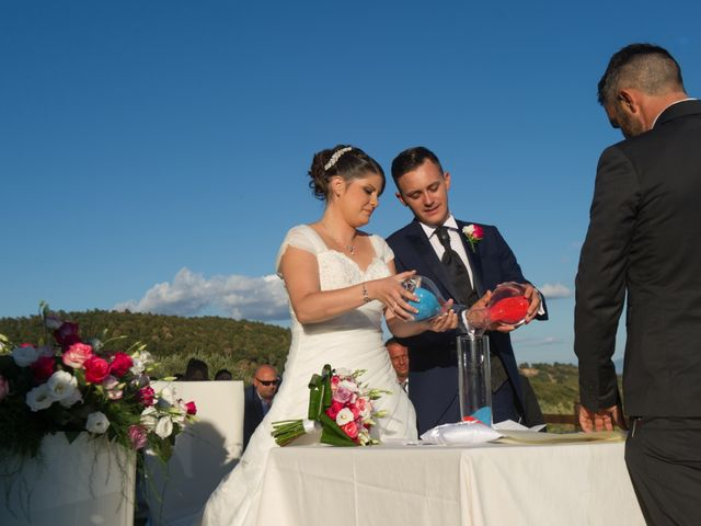 Il matrimonio di Manuel e Sara a Trevignano Romano, Roma 36
