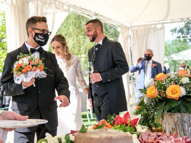 Il matrimonio di Alessandra e Enzo a Riano, Roma 2