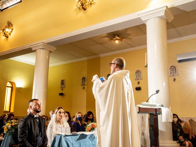 Il matrimonio di Alessandra e Enzo a Riano, Roma 40