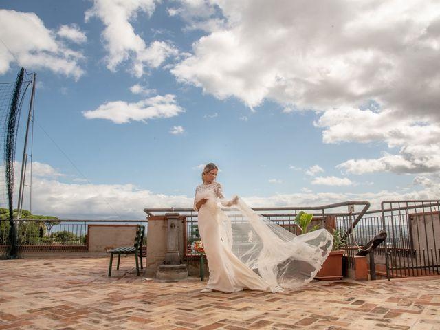 Il matrimonio di Alessandra e Enzo a Riano, Roma 43