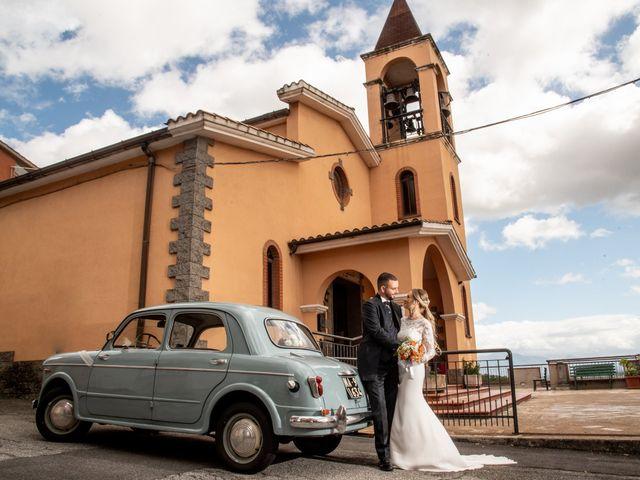 Il matrimonio di Alessandra e Enzo a Riano, Roma 45