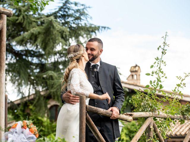 Il matrimonio di Alessandra e Enzo a Riano, Roma 57
