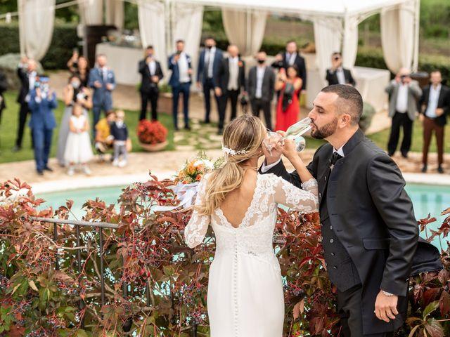 Il matrimonio di Alessandra e Enzo a Riano, Roma 58