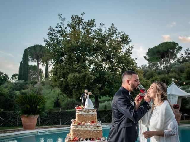 Il matrimonio di Alessandra e Enzo a Riano, Roma 74
